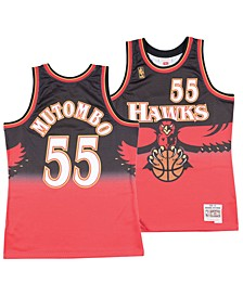 Men's Dikembe Mutombo Atlanta Hawks Hardwood Classic Swingman Jersey