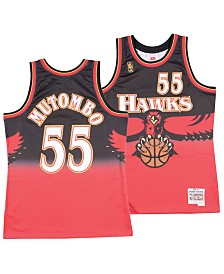 Mitchell & Ness Men's Dikembe Mutombo Atlanta Hawks Hardwood Classic Swingman Jersey