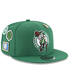 New Era Boys' Boston Celtics On-Court Collection 9FIFTY Snapback Cap