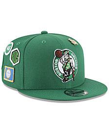 New Era Boys' Boston Celtics On-Court Collection 9FIFTY Snapback Cap