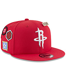 New Era Boys' Houston Rockets On-Court Collection 9FIFTY Snapback Cap