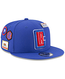 New Era Boys' Los Angeles Clippers On-Court Collection 9FIFTY Snapback Cap