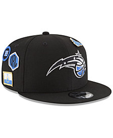 New Era Boys' Orlando Magic On-Court Collection 9FIFTY Snapback Cap
