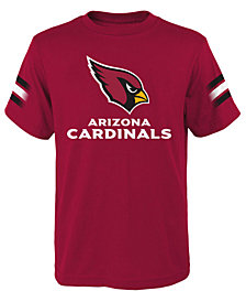 Outerstuff Arizona Cardinals Goal Line T-Shirt, Big Boys (8-20)
