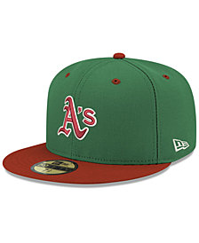 New Era Oakland Athletics Green Red 59FIFTY FITTED Cap