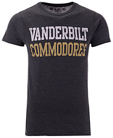 Retro Brand Men's Vanderbilt Commodores Team Stacked Dual Blend T-Shirt