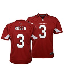 Nike Josh Rosen Arizona Cardinals Game Jersey, Big Boys (8-20)
