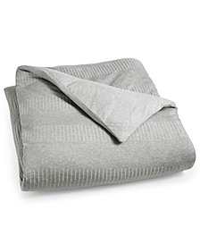 Calvin Klein Modern Steve Twin Duvet Cover, a Macy's Exclusive Style