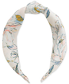 Lucky Brand Parisian Floral-Print Headband, Created for Macy's