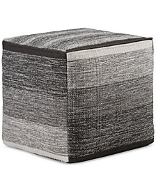 Wenson Cube Pouf, Quick Ship