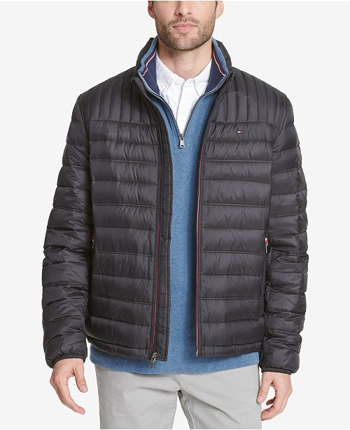 a4dc95548 Men's Big & Tall Packable Down Puffer Coat