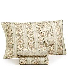 CLOSEOUT! Sanders Cotton Vintage 4-Pc. Queen Sheet Set