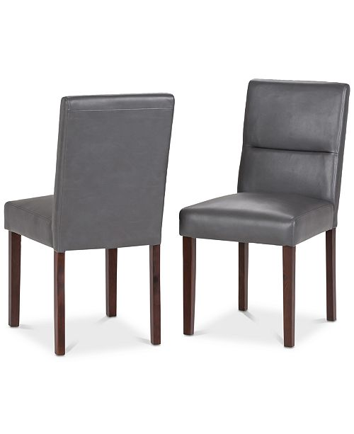 Furniture Norvan Dining Chair (Set of 2), Quick Ship