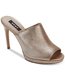 DKNY Val Mules, Created for Macy's