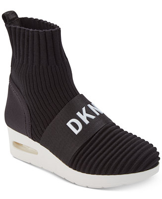 Dkny Anna Wedge Sneakers Created For Macy S Sneakers