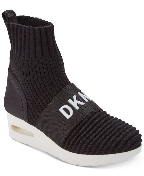 7de83af7a DKNY Anna Wedge Sneakers, Created for Macy's & Reviews - Athletic ...