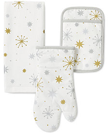 kate spade new york 3-Pc. Starburst Kitchen Set