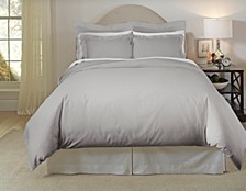 Solid 3-Pc. Full/Queen Duvet Set, 620 Thread Count Cotton