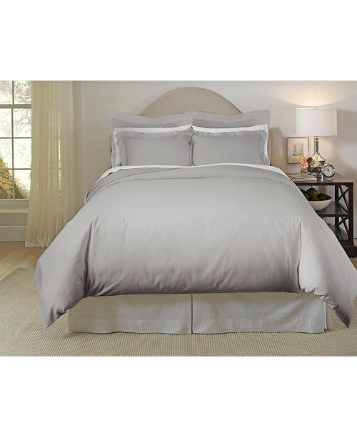 Pointehaven 620 Thread-Count Cotton 3-Piece Full/Queen Duvet Set