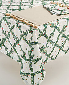 "kate spade new york Pine Needles 60"" x 120"" Tablecloth"