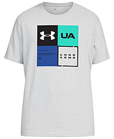 Under Armour Men's Charged Cotton® Colorblocked-Logo T-Shirt