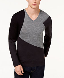 A|X Armani Exchange Men's Virgin Wool Sweater