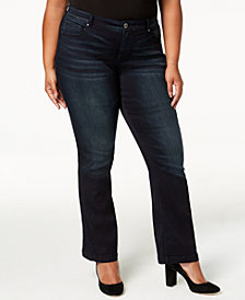 I.N.C. Plus Size Bootcut Jeans, Created for Macy's
