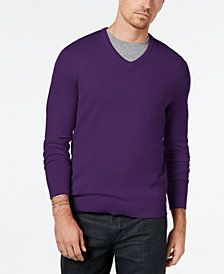 Alfani Men's V-Neck Sweater, Created for Macy's
