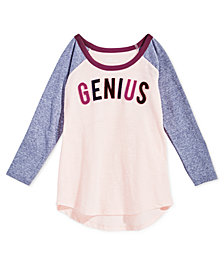 Epic Threads Big Girls Long-Sleeve Graphic Raglan T-Shirt, Created for Macy's