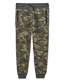 Epic Threads Little Boys Camo-Print Jogger Pants, Created for Macy's