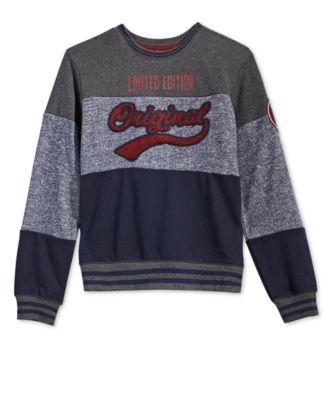 Big Boys Original-Print Sweatshirt, Created for Macy's