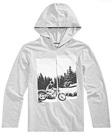 Epic Threads Big Boys Hooded Motorcycle-Print T-Shirt, Created for Macy's