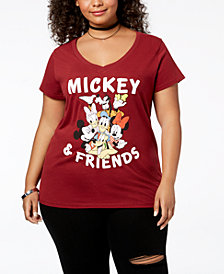 Disney Plus Size Mickey Mouse & Friends T-Shirt