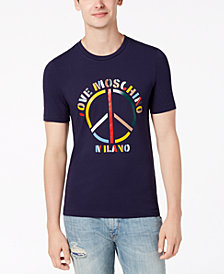 Love Moschino Men's Peace T-Shirt