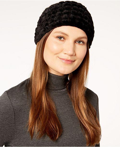 3eb40f0bde3 Calvin Klein Faux-Fur Headband   Reviews - Handbags   Accessories ...