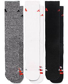 adidas Men's 3-Pk. ClimaLite® Cushioned Crew Socks