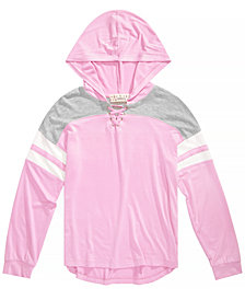 Pink Republic Big Girls Hooded Knit Top