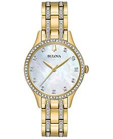 Women's Two-Tone Stainless Steel Bracelet Watch 32mm Gift Set