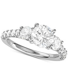 Diamond Engagement Ring (2-5/8 ct. t.w.) in 14k White Gold