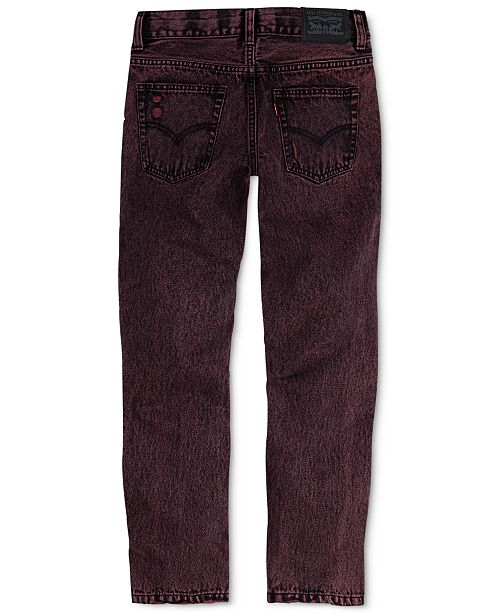 5960afdbbb6 ... Cotton Jeans  Levi s Big Boys 502 trade  Regular Taper-Fit ...