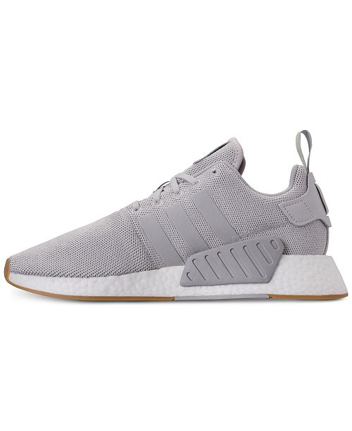 bf7f9bc76 adidas Men s NMD R2 Casual Sneakers from Finish Line   Reviews ...