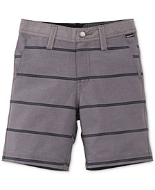 Volcom Striped Shorts, Little Boys