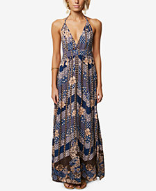O'Neill Juniors' Annalisa Halter Maxi Dress