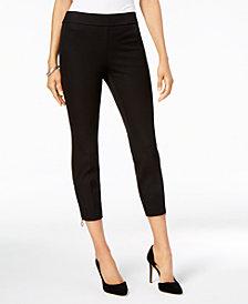 Alfani Ankle-Zip Pull-On Skinny Pants, Created for Macy's