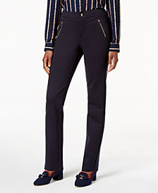 Charter Club Slim-Leg Ponte Pants, Created for Macy's