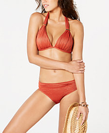 Kenneth Cole Push-Up Bikini Top & Hipster Bottoms