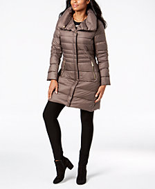 MICHAEL Michael Kors Pillow-Collar Puffer Coat