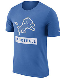 Nike Men's Detroit Lions Legend Football Equipment T-Shirt