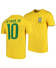 Nike Neymar Brazil National Team Home Stadium Jersey, Big Boys (8-20)