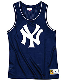 Mitchell & Ness Men's New York Yankees Mesh Tank Top
